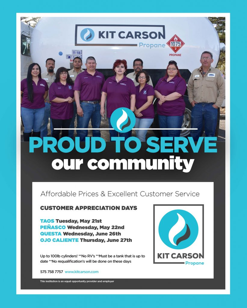 Save the Date: Kit Carson Propane Appreciation Day! - Kit