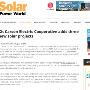 Electric Archives - Kit Carson Electric Cooperative